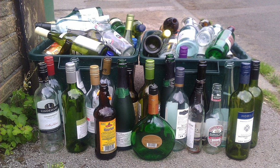 July 2011 thoughts of houdini for Things to do with empty liquor bottles
