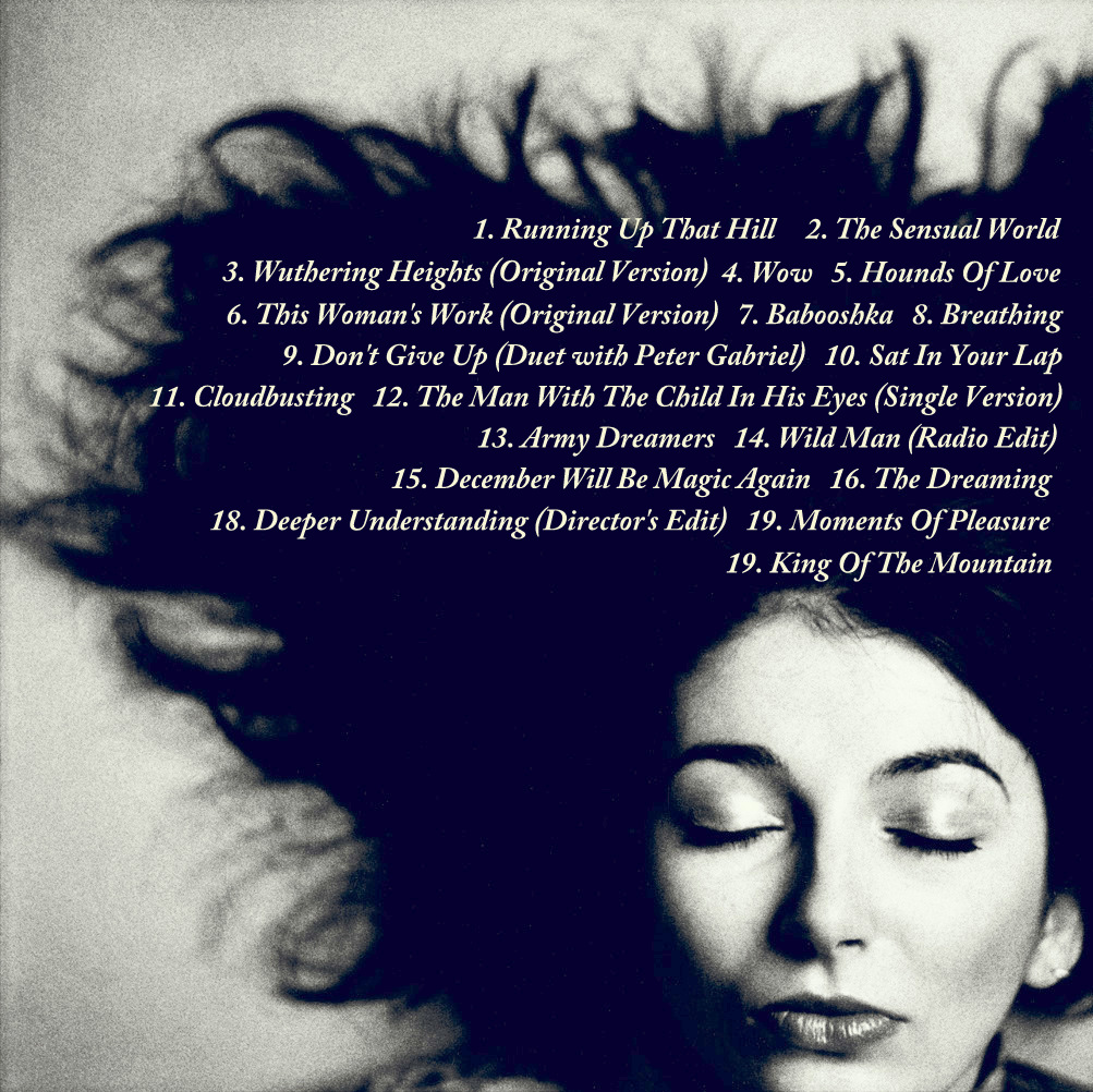 Christmas Story Bumpus Hounds Quote: Kate Bush USE Back Cover 1 Cd
