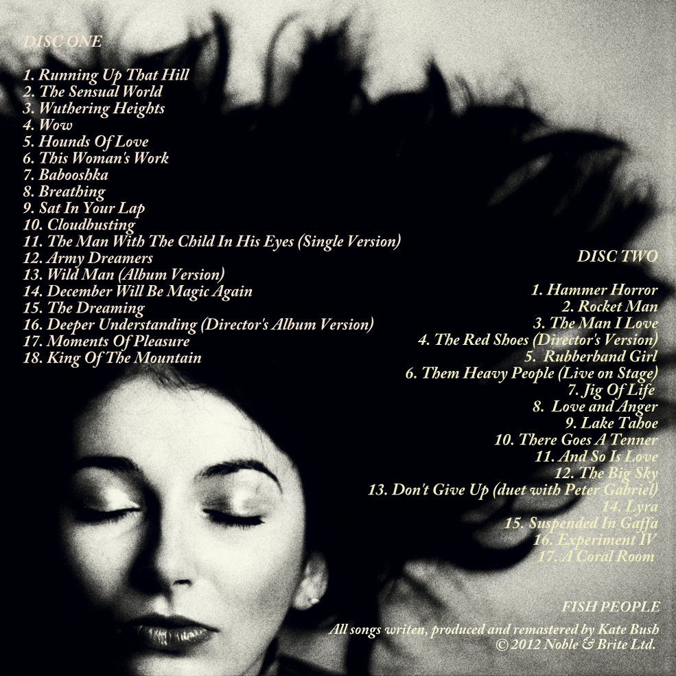 kate bush | THOUGHTS of HOUDINI